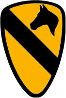 "3"" & 6"" 1st CAVALRY DECALS"