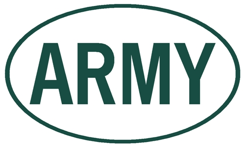 ARMY EURO DECAL