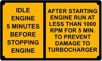 TURBO WARNING