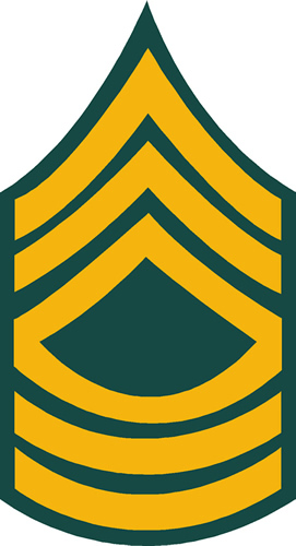 ARMY MASTER SERGEANT RANK
