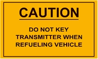 DO NOT KEY TRANSMITTER