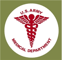 "6"" US ARMY MEDICAL DEPT."