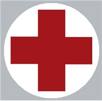 Helmet Medical Cross