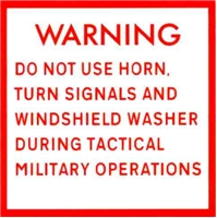 TACTICAL WARNING