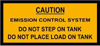 M151 EMISSION CONTROL SYSTEM WARNING