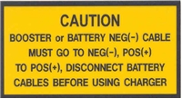 BATTERY BOX WARNING