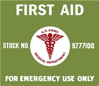 SQUAD FIRST AID KIT LETTERING