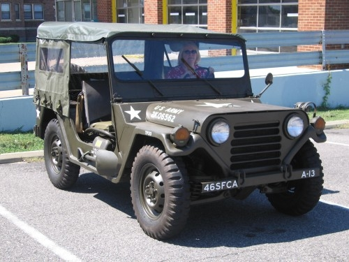 M151A2  JEEP SPARE TIRE PLATE